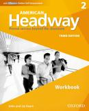 AMERICAN HEADWAY 2 WB WITH ICHECKER- 3RD ED