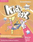 KIDS BOX AMERICAN ENGLISH STARTER - CLASS BOOK WITH CD-ROM - 2ND
