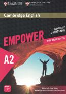 CAMBRIDGE ENGLISH EMPOWER ELEMENTARY STUDENT´S BOOK WITH ONLINE ASSESSMENT AND PRACTICE AND ONLINE WORKBOOK - 1ST ED