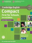 CAMBRIDGE ENGLISH COMPACT FIRST FOR SCHOOLS STUDENT´S BOOK WITH CD-ROM - 2ND ED