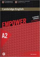 CAMBRIDGE ENGLISH EMPOWER ELEMENTARY WORKBOOK WITH ANSWERS - 1ST ED