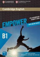 CAMBRIDGE ENGLISH EMPOWER PRE-INTERMEDIATE STUDENT´S BOOK WITH ONLINE ASSESSMENT AND PRACTICE AND ONLINE WORKBOOK - 1ST ED
