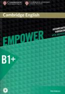 CAMBRIDGE ENGLISH EMPOWER INTERMEDIATE WORKBOOK WITH ANSWERS - 1ST ED