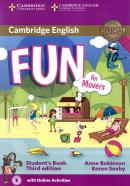 FUN FOR MOVERS STUDENT´S BOOK WITH AUDIO AND ONLINE ACTIVITIES - 3RD ED