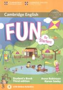 FUN FOR STARTERS STUDENT´S BOOK WITH ONLINE ACTIVITIES - 3RD ED