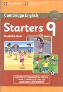 CAMBRIDGE ENGLISH YOUNG STARTERS 9 STUDENT´S BOOK