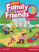 FAMILY AND FRIENDS 2 CLASS BOOK WITH MULTI-ROM - 2ND ED
