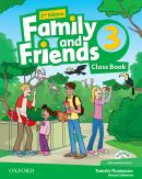 FAMILY AND FRIENDS 3 CLASS BOOK WITH MULTI-ROM - 2ND ED