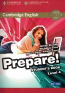 CAMBRIDGE ENGLISH PREPARE! 4 STUDENT´S BOOK - 1ST ED