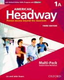 AMERICAN HEADWAY 1A MULTIPACK WITH ONLINE SKILLS - 3RD ED