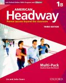 AMERICAN HEADWAY 1B MULTIPACK WITH ONLINE SKILLS - 3RD ED