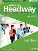 AMERICAN HEADWAY STARTER B MULTIPACK WITH ONLINE SKILLS - 3RD ED