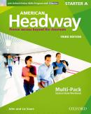 AMERICAN HEADWAY STARTER A MULTIPACK WITH ONLINE SKILLS - 3RD ED