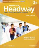 AMERICAN HEADWAY 2B MULTIPACK WITH ONLINE SKILLS - 3RD ED
