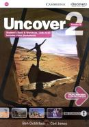 UNCOVER 2B COMBO STUDENT´S BOOK WITH ONLINE WORKBOOK AND ONLINE PRACTICE - 1ST ED