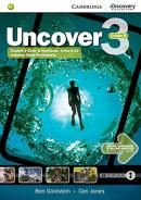 UNCOVER 3B COMBO STUDENT´S BOOK WITH ONLINE WORKBOOK AND ONLINE PRACTICE - 1ST ED