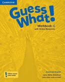 GUESS WHAT! 4 WORKBOOK WITH ONLINE RESOURCES - AMERICAN