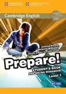 CAMBRIDGE ENGLISH PREPARE! 1 STUDENT´S BOOK WITH ONLINE WORKBOOK - 1ST ED