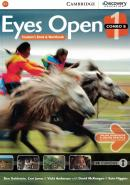 EYES OPEN 1B COMBO STUDENT´S BOOK WITH ONLINE WORKBOOK AND ONLINE PRACTICE - 1ST ED