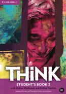 THINK 2 STUDENT´S BOOK WITH ONLINE WORKBOOK AND ONLINE PRACTICE - 1ST ED