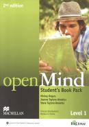 OPEN MIND 1 SB WITH DVD AND WEBCODE  - 2ND ED