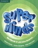 SUPER MINDS BRITISH 2 WORKBOOK WITH ONLINE RESOURCES - 1ST ED