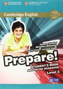 CAMBRIDGE ENGLISH PREPARE! 3 STUDENT´S BOOK WITH ONLINE WORKBOOK - 1ST ED