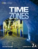 TIME ZONES 2A COMBO SPLIT WITH ONLINE WORKBOOK - 2ND ED