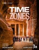 TIME ZONES 3B COMBO SPLIT WITH ONLINE WORKBOOK - 2ND ED