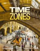 TIME ZONES 4A COMBO SPLIT WITH ONLINE WORKBOOK - 2ND ED