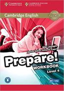 CAMBRIDGE ENGLISH PREPARE! 4 WORKBOOK - 1ST ED