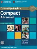 CAMBRIDGE ENGLISH COMPACT ADVANCED STUDENT´S BOOK  WITH ANSWERS AND CD-ROM