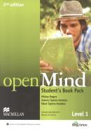 OPEN MIND 1 STUDENT´S BOOK WITH WORKBOOK PACK - 2ND ED