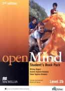 OPEN MIND 2B STUDENT´S BOOK WITH WORKBOOK PACK - 2ND ED