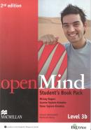 OPEN MIND 3B STUDENT´S BOOK WITH WORKBOOK - 2ND ED