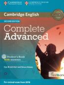 COMPLETE ADVANCED SB WITH ANSWERS AND CD-ROM WITH TESTBANK - 2ND ED