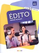 EDITO A1 LIVRE + CD MP3 + DVD - 3º ED