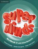 SUPER MINDS BRITISH 3 WORKBOOK WITH ONLINE RESOURCES - 1ST ED