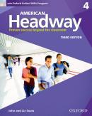 AMERICAN HEADWAY 4 SB WITH OXFORD ONLINE SKILLS PROGRAM - 3RD ED