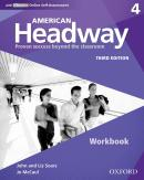 AMERICAN HEADWAY 4 WB WITH ICHECKER - 3RD ED