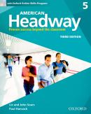 AMERICAN HEADWAY 5 SB WITH OXFORD ONLINE SKILLS PROGRAM - 3RD ED