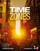 TIME ZONES 1A COMBO SPLIT WITH ONLINE WORKBOOK - 2ND ED