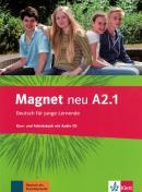 MAGNET NEU A2.1 KURS- UND ARBEITSBUCH MIT AUDIO-CD