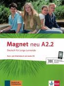 MAGNET NEU A2.2 KURS UND ARBEITSBUCH MIT AUDIO-CD