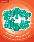 SUPER MINDS BRITISH 4 WORKBOOK WITH ONLINE RESOURCES - 1ST ED