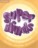 SUPER MINDS BRITISH 5 WORKBOOK WITH ONLINE RESOURCES - 1ST ED