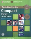 CAMBRIDGE ENGLISH COMPACT FIRST STUDENT´S BOOK PACK (STUDENT´S BOOK WITH ANSWERS WITH CD-ROM AND CLASS AUDIO 2 CDS) - 2ND ED