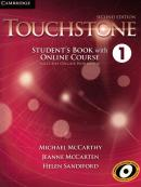 TOUCHSTONE 1 SB WITH ONLINE COURSE - INCLUDES ONLINE WORKBOOK - 2ND ED