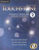 TOUCHSTONE 2 SB WITH ONLINE COURSE - INCLUDES ONLINE WORKBOOK - 2ND ED