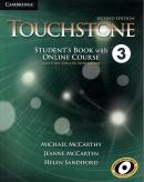 TOUCHSTONE 3 SB WITH ONLINE COURSE - INCLUDES ONLINE WORKBOOK - 2ND ED